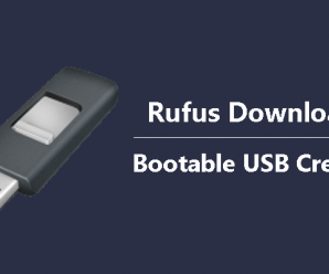 Rufus Download Bootable USB